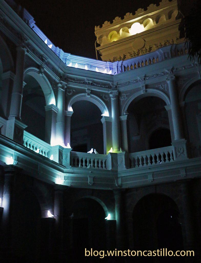 Muestra de la Plaza Palomas Caidas